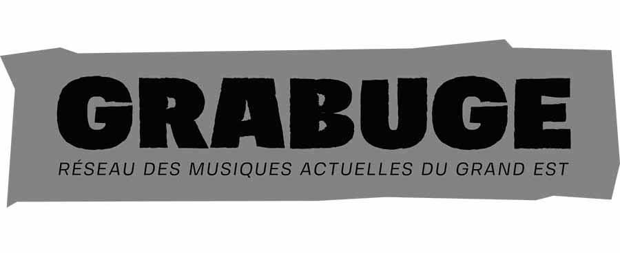 Logo Grabuge Réseau des Musiques Actuelles du Grand Est